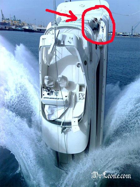 Accident de Yacht en voulant le transporter ! 4