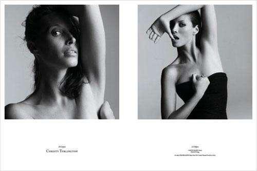 Photos de mannequins avant et après le maquillage ! -  1