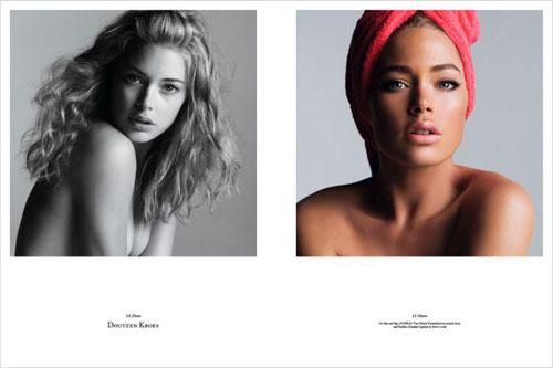 Photos de mannequins avant et après le maquillage ! -  2