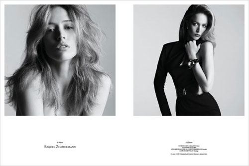 Photos de mannequins avant et après le maquillage ! -  4