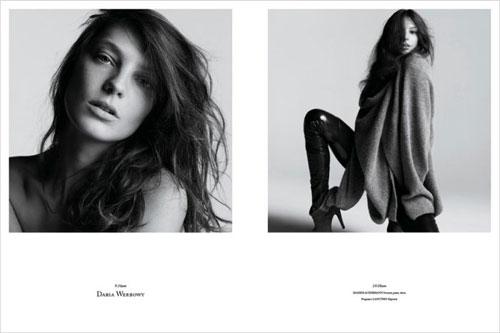 Photos de mannequins avant et après le maquillage ! -  5