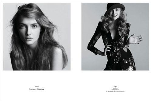 Photos de mannequins avant et après le maquillage ! -  8