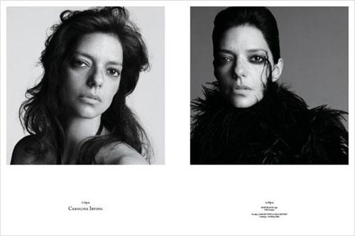 Photos de mannequins avant et après le maquillage ! -  11