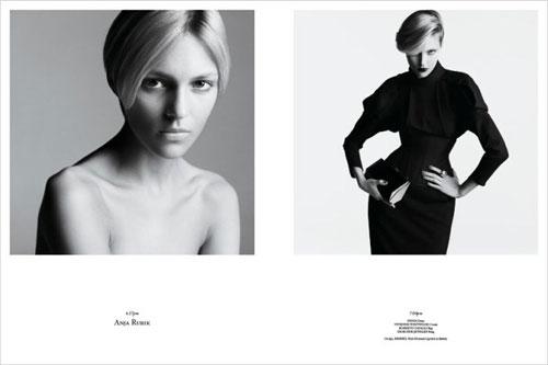 Photos de mannequins avant et après le maquillage ! -  12